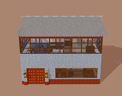 Chinese House - Anatomy of a building
