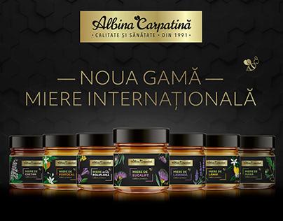 International Honey Label Design