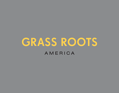 Grass Roots America: Identity Redesign