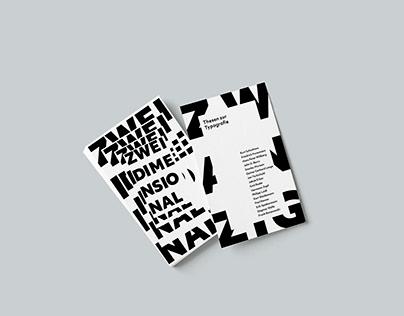 Thesen zur Typografie