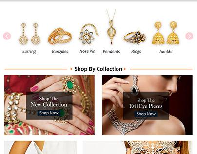 Jewelry brand - eCommerce