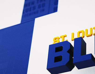 St. Louis Blues Game Trailer Title Design