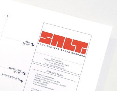 SALT Architects Branding