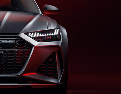 2020 Audi RS6 - Full CGI