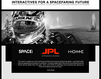 WIP: Interactives for a Spacefaring Future