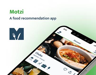 Premium food recommendation app