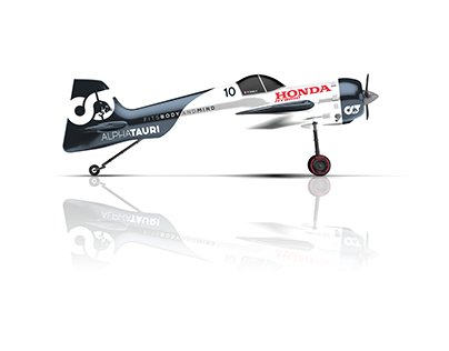 Alpha Tauri F1 Concept Aircraft Livery