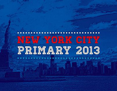 New York Primary 2013