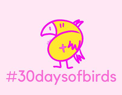 #30daysofbirds