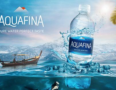 Advertising Design (Aquafina)
