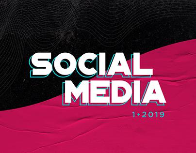 SOCIAL MEDIA 2019/1 | AGÊNCIA HUGZ