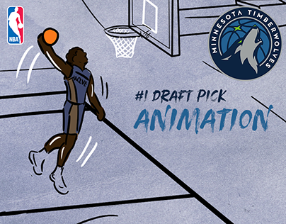 Minnesota Timberwolves - #1 Draft Pick Animation