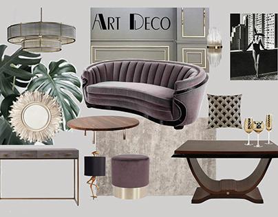 Moodboard Art Deco