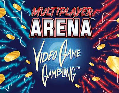 Multiplayer Arena™ Booth design (Illustration)