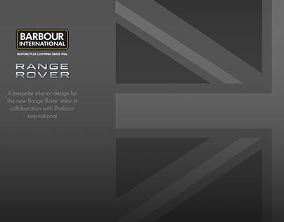 Range Rover Velar x Barbour International Interior