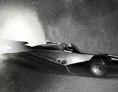 2020 Indy 500 Race Car