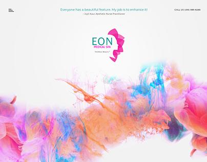 Eon Medical Spa Web UI Concept