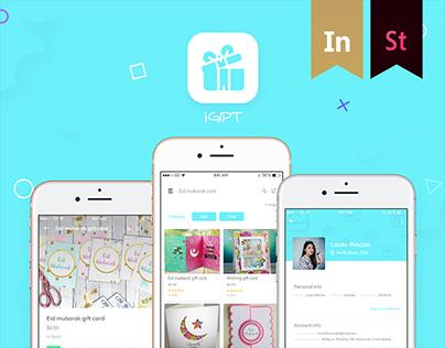 iGIPT - Gift Card App
