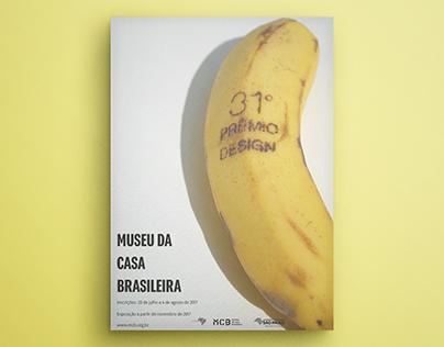 Cartaz Museu da Casa Brasileira