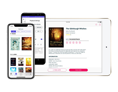 Booktrack Reader iOS/Android Apps