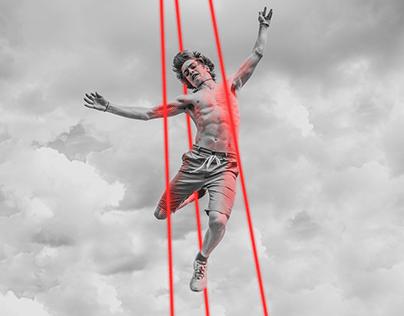 LaserTAG Series - Photomontage