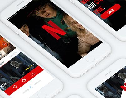 Netflix — Redesign concept