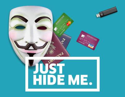 Just Hide Me