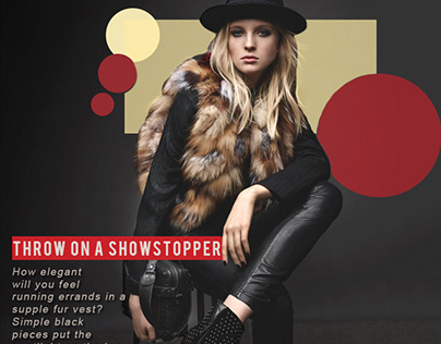 SOCIAL MEDIA MARKETING I Fashion I Magazine Add