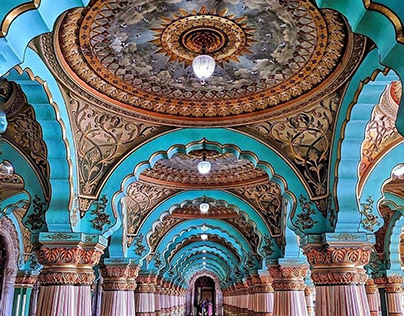 Architecture Photography Mysore Palace India