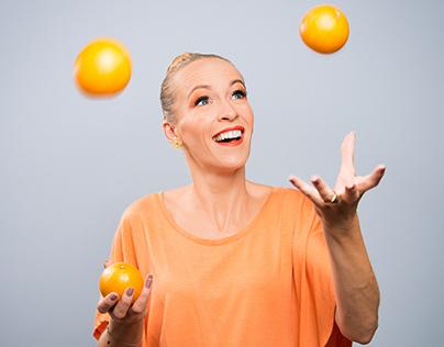 Vitamins - Orange