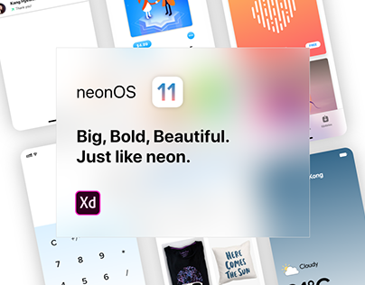 Neon (Mobile UI Kit)