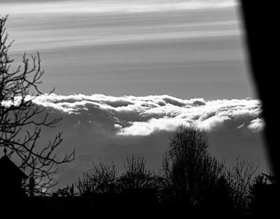 Mountain wind seen from my window