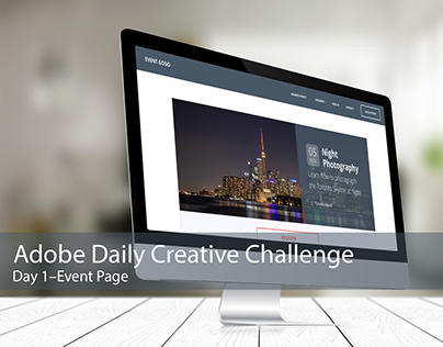 Adobe Daily Creative Challenge