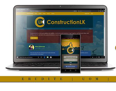 ConstructionLK: Product Design