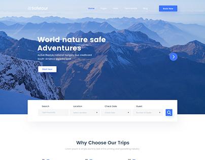 Safetour - Tour & Travel Booking Template