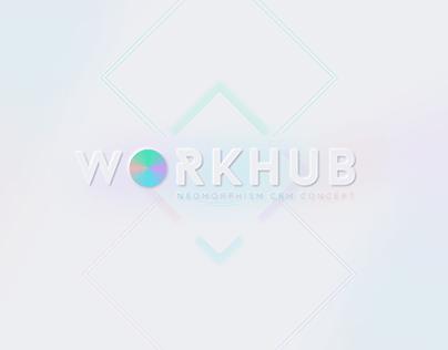Workhub CRM System