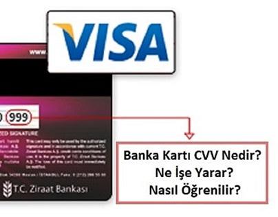 Banka Kartı CVV Ne
