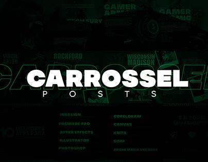 Postagens carrossel