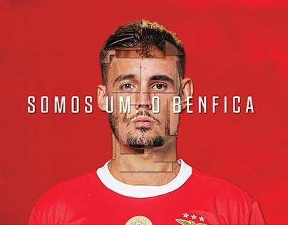 Decoração do balneário do Benfica em Alvalade 2019/20