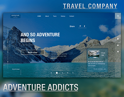 "Travel Company ""Adventure Addicts"""