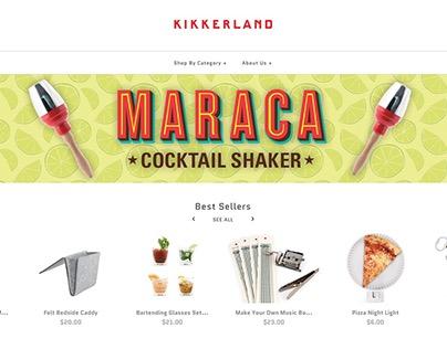 Kikkerland Web Graphics
