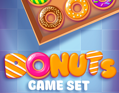 Big Donuts Game Set with GUI