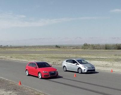 Audi e-tron Comparison — Digital Campaign