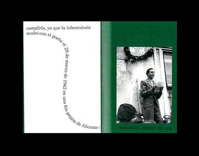 POEMAS, Miguel Hernández EDITORIAL