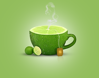 The Tea Project : Photoshop Manipulation