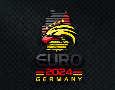 EURO 2024 Logo - My Trial in the contest