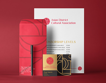 Asian District Cultural Association Branding