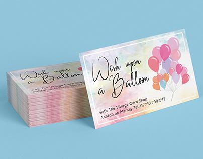 "Branding/Logo/Banner Design for ""Wish Upon A Balloon"""