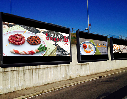 Sanlorenzo Mercato advertising projects