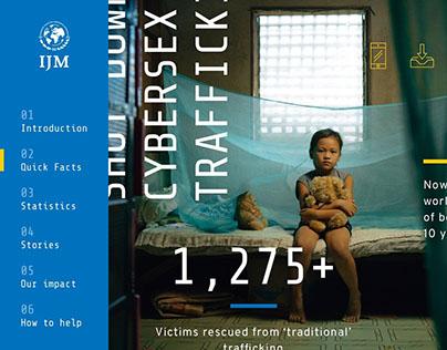 IJM Cybersex Trafficking Campaign